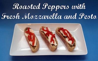 bread, ciabatta loaf, ecce panis, roasted red peppers, fresh mozzarella, pesto, spread