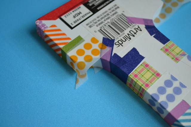 Washi Tape, Curved Areas, Tutorial