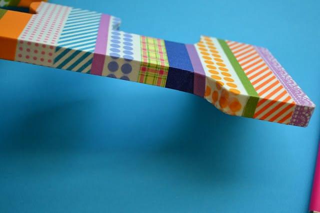 Washi Tape, Finished Edges, Tutorial