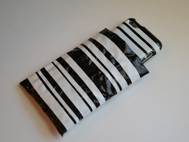 Kate Spade, Duct Tape, iPod, Case, Tutorial
