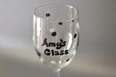 Elmer's Painters, Wine Glass, Custom, Party Glass