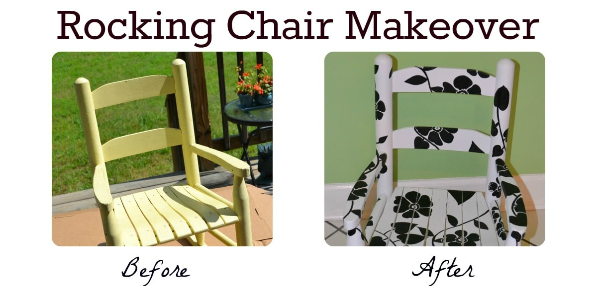 Superb Tutorial Hand Painted Rocking Chair As The Bunny Hops Short Links Chair Design For Home Short Linksinfo