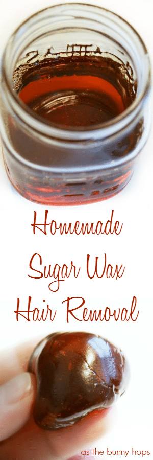 Remove unwanted hair quickly and easily with this homemade sugar wax recipe. Chances are you