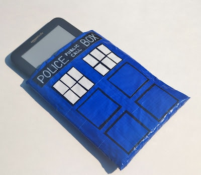 Doctor Who, Tardis, Tech Case, Duct Tape