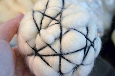 Dryer Ball, Wool Yarn, Wrap
