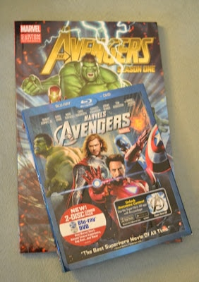 Walmart, Avengers, App, Pizza, Shopping, BluRay, DVD, Movie Night