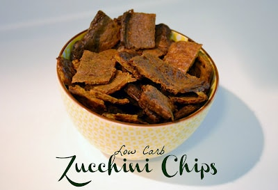 Low Carb Zucchini Chips