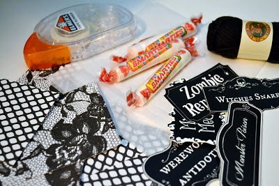 Halloween, Printable, Supplies, Smarties, Tutorial, Instructions