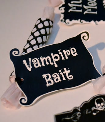 Halloween, Printable, Vampire Bait