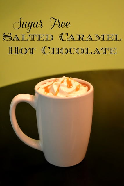 Sugar Free, Salted Caramel, Hot Chocolate, Recipe, Torani, Syrup