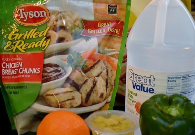 Sweet & Sour, Chicken, recipe, Tyson