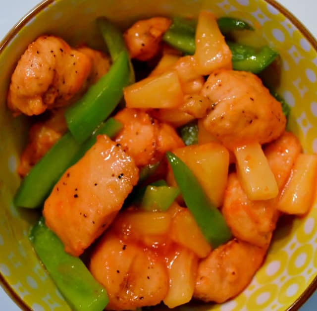 Sweet & Sour, Chicken, Tyson, Recipe