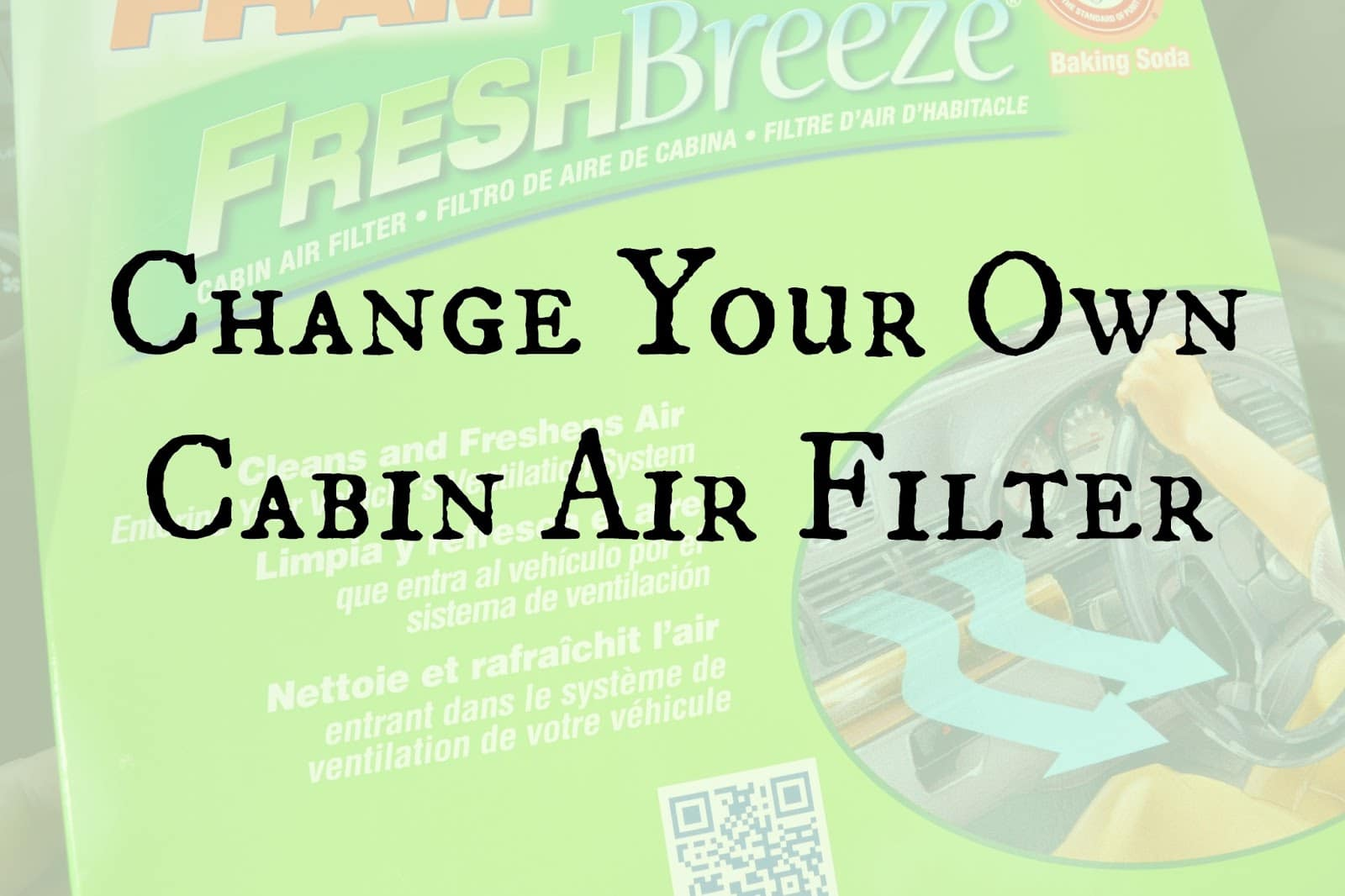 Did you know you can easily change out the cabin air filter in your car? Or  are you like me and had no idea your car had a cabin air filter until ...