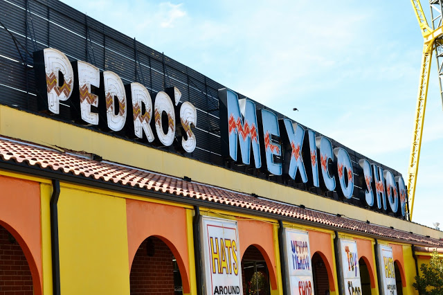 South of the Border, NC, SC, Pedro, Road Trip