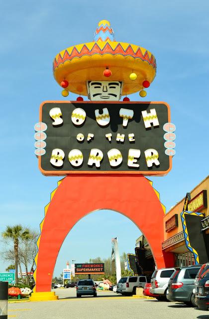 South of the Border, NC, SC, Pedro, Road Trip