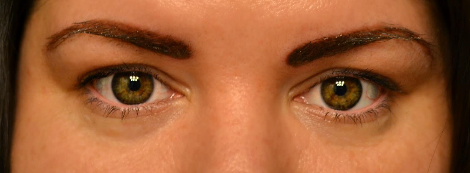 Makeup monday permanent makeup before and after as the bunny hops