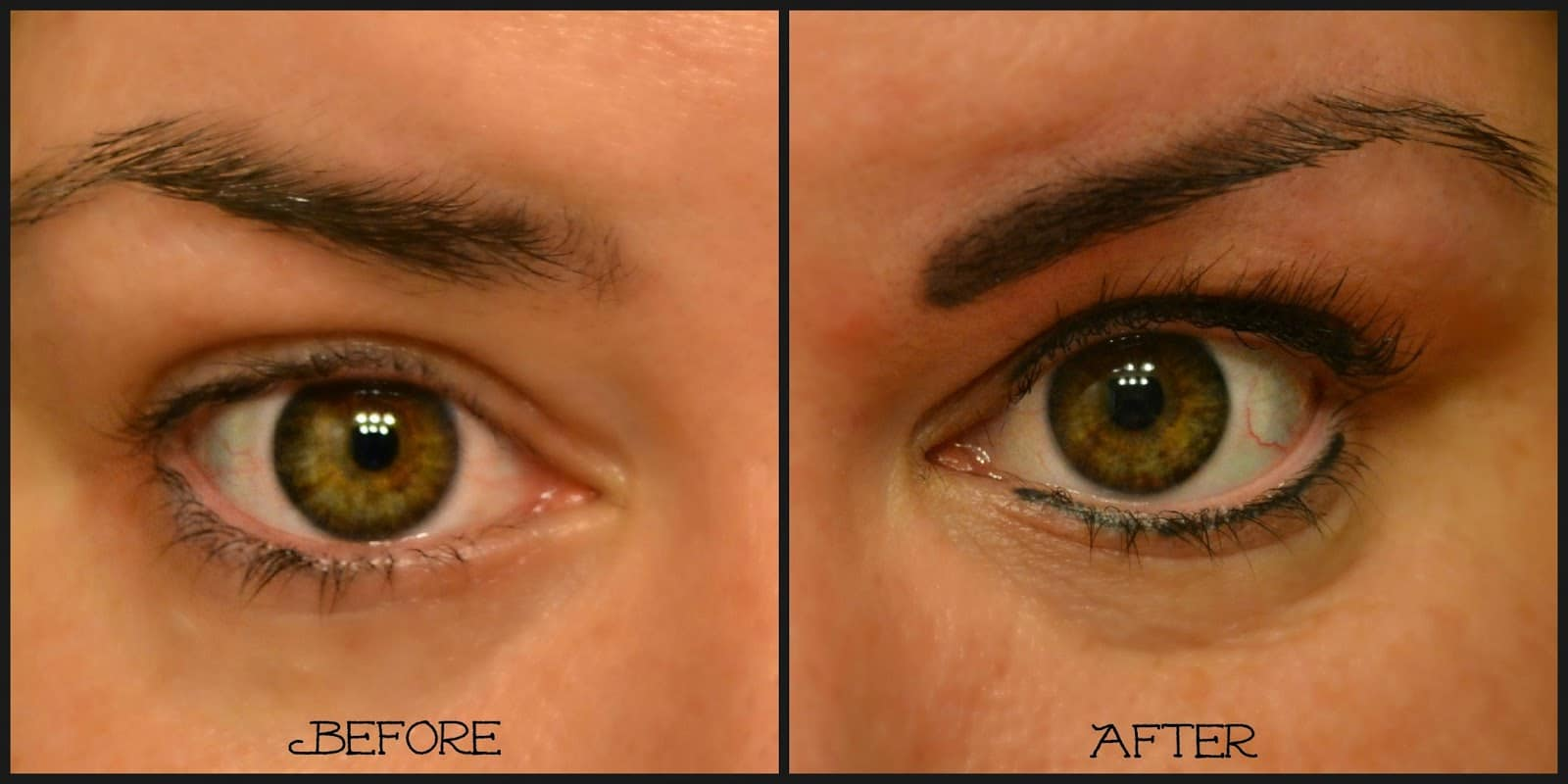 Eyebrow Permanent Makeup Before After Style Guru