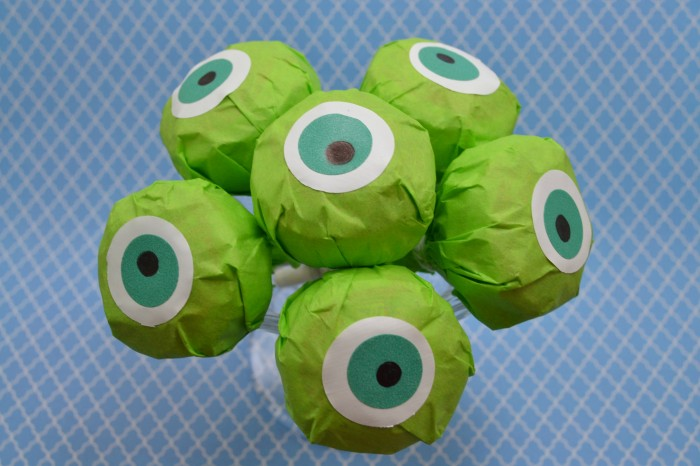 Mike Wazowski, Lollipops, Monsters University, Craft