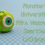 {Tutorial} Monsters University Mike Wazowski Smarties Lollipops