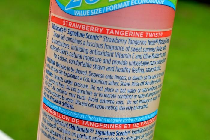 Skintimate Label
