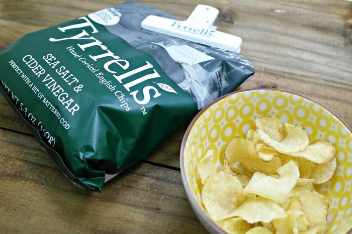 Tyrrell's, Sea Salt, Vinegar, Chips, Potato Chips