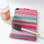 {Tutorial} Washi Tape iPad Case Update