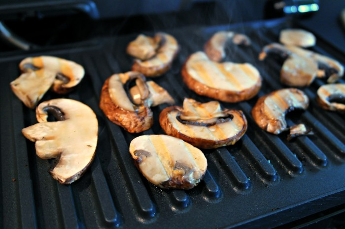 Mushrooms, Grill