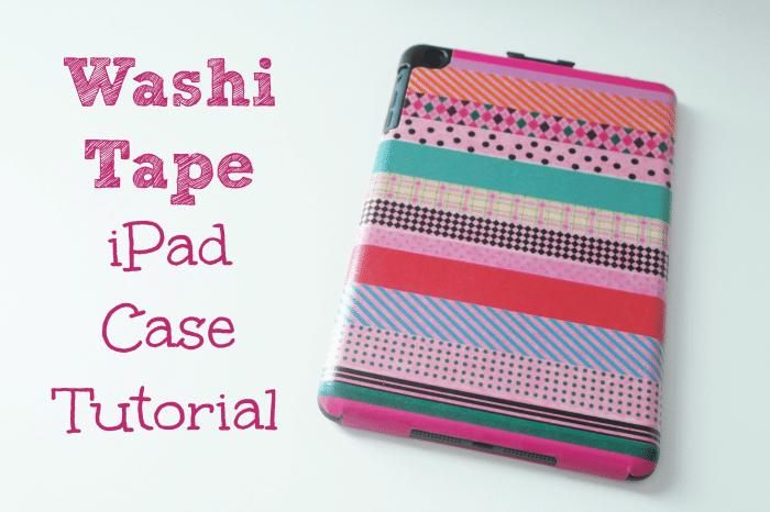 Washi Tape, iPad Case