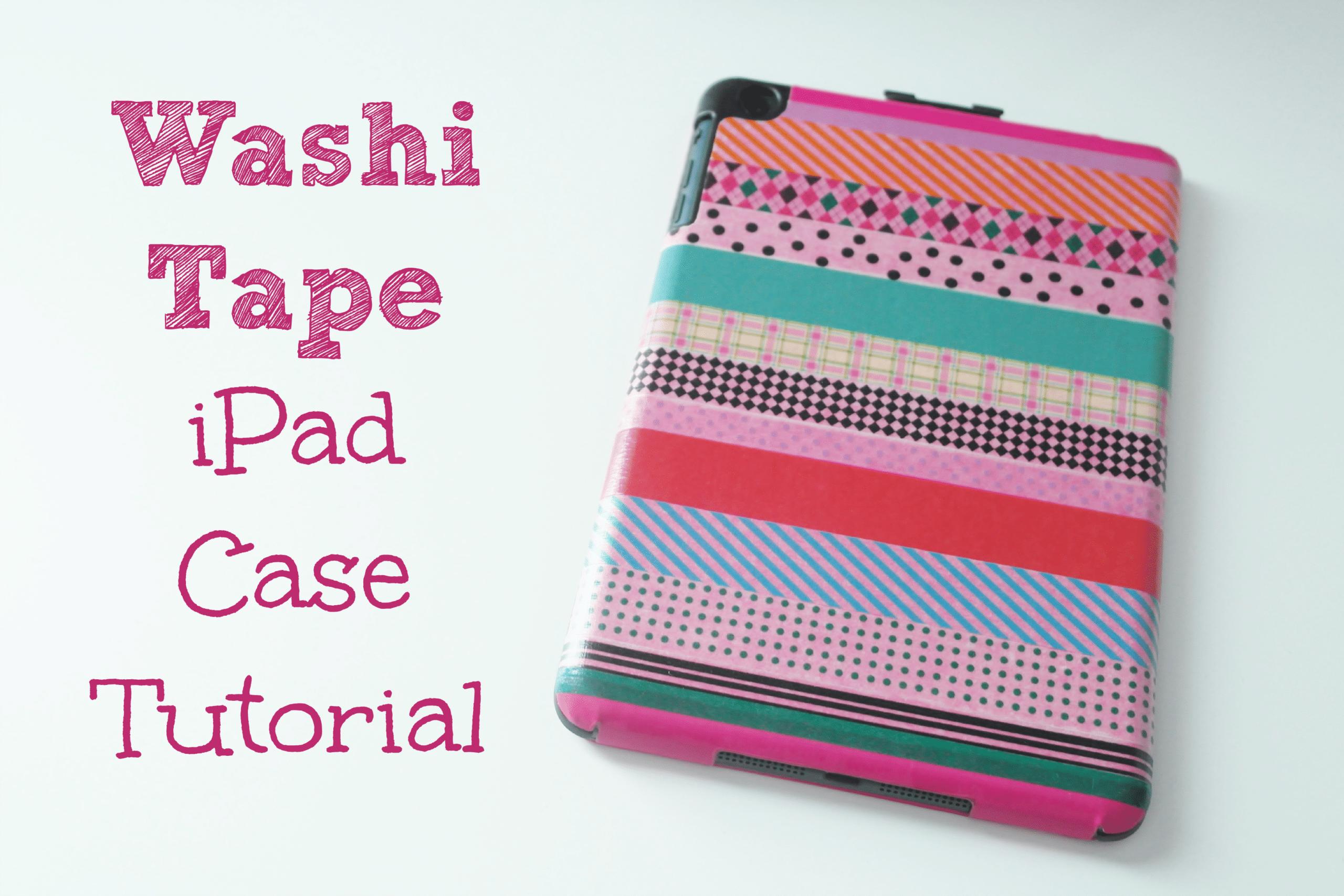 Amato Washi Tape iPad Case Update - As The Bunny Hops® OV95