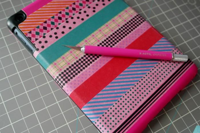 iPad Case, Washi Tape