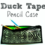 {Tutorial}  Duck Tape® Pencil Case