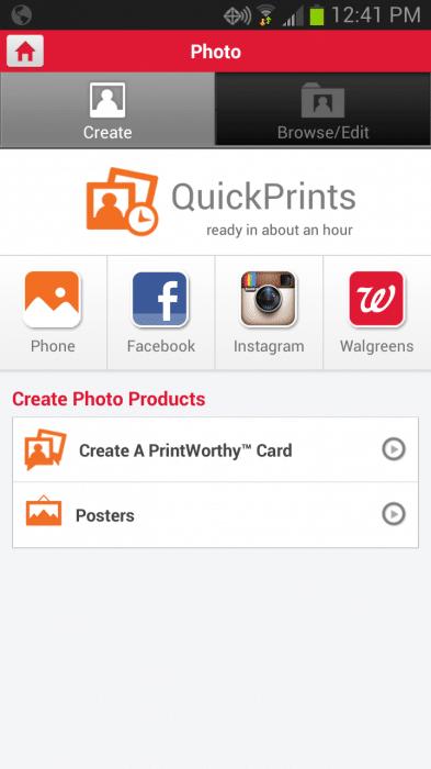 Walgreens App Screenshot