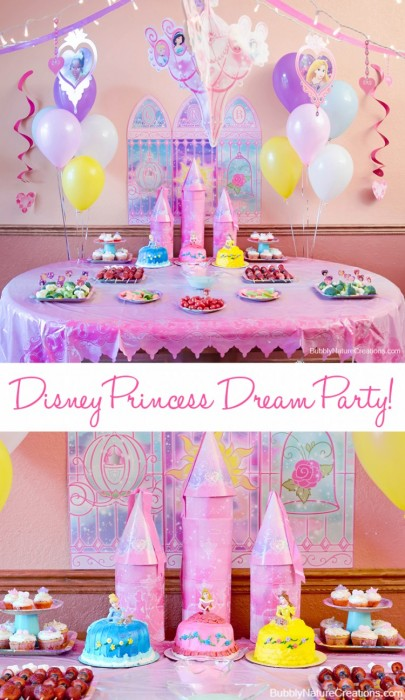 A Disney Princess Dream Party From Bubbly Nature Creations