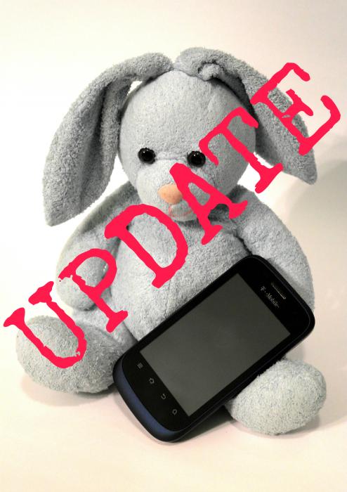 Bunny Smartphone update #shop