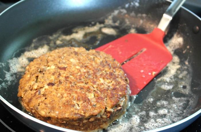 Cooking Burger