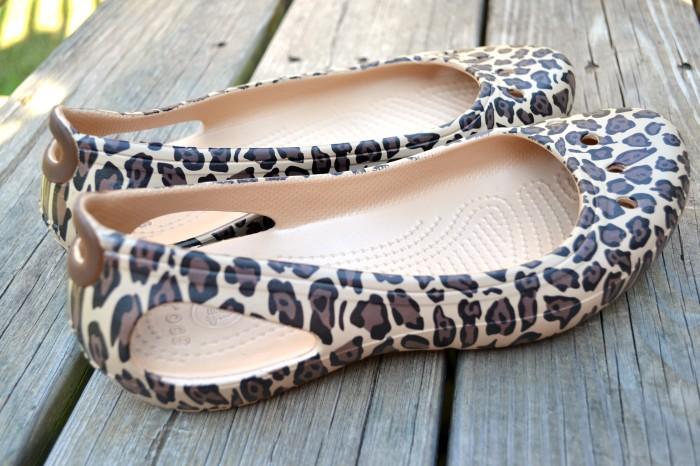 Leopard Crocs