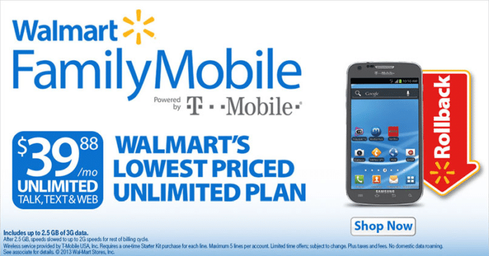 Walmart Family Mobile #shop