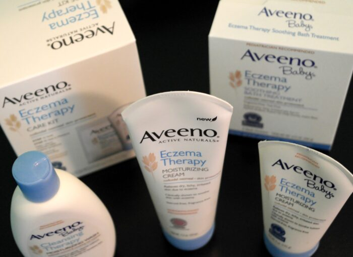 Aveeno Active Naturals and Aveeno Baby Eczema Therapy Care