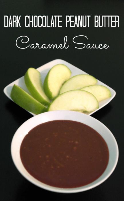 Dark Chocolate Peanut Butter Caramel Sauce