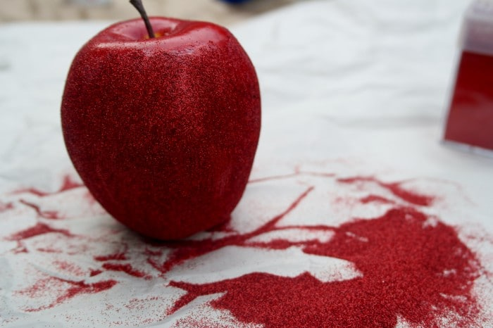 Glittered Apple Project