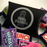 {Tutorial} Happy Halloween Pillow Boxes with Printable Label