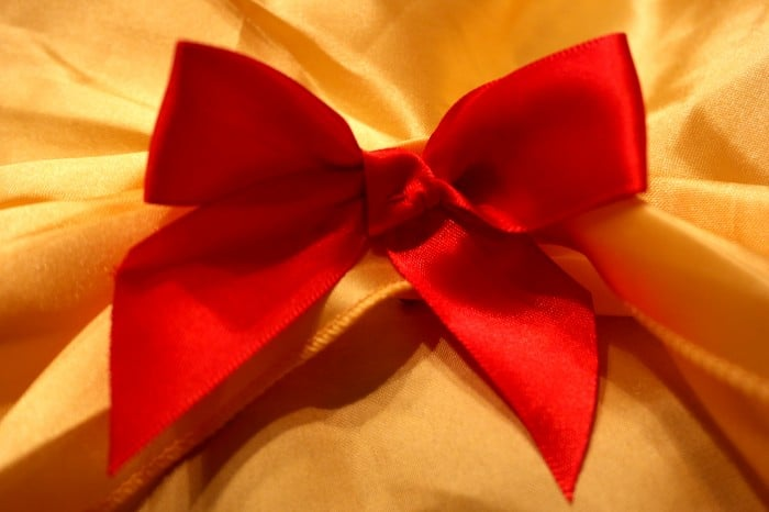 Snow White Costume Bow
