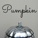 {Tutorial} Mercury Glass Pumpkin
