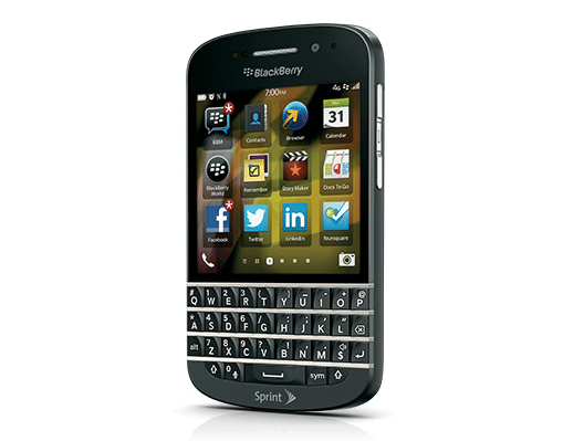 BlackBerry Q10 Sprint