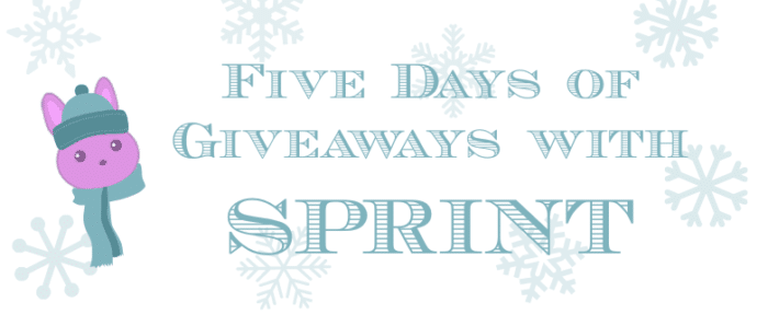 Five Days of Giveaways with Sprint