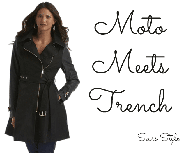 Moto Meets Trench #shop