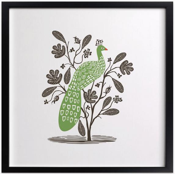 Quill Art Print