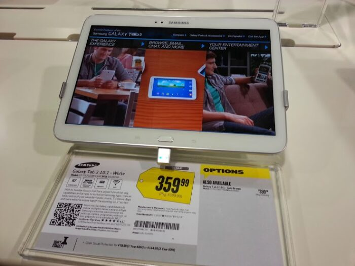Samsung Glaxy Tab 3 at Best Buy #shop