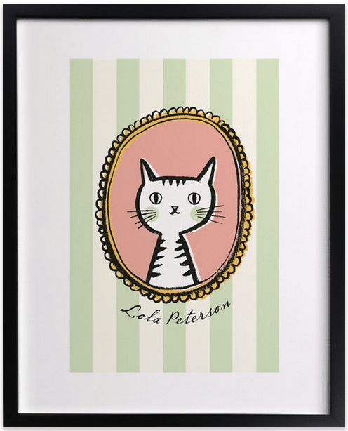 Whiskers Custom Art Print