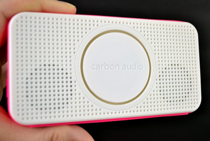Carbon Audio Pocket Speaker in pink #PocketBoom #shop #cbias